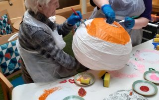 Arts and craft at Vida Grange Harrogate