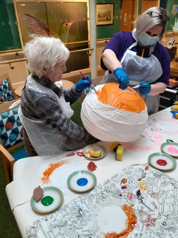 Arts and craft at Vida Grange Harrogate