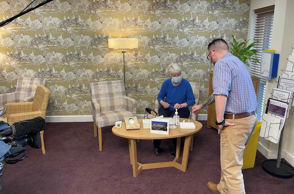 Care Home Visit at Vida Grange