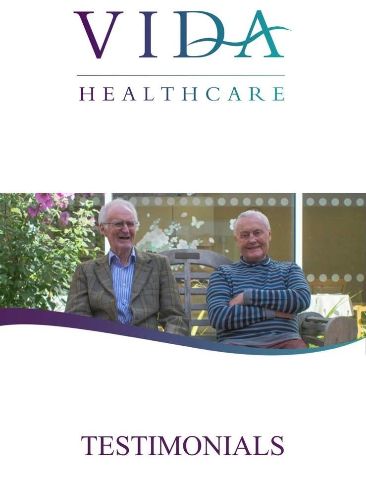Vida Healthcare Testimonials