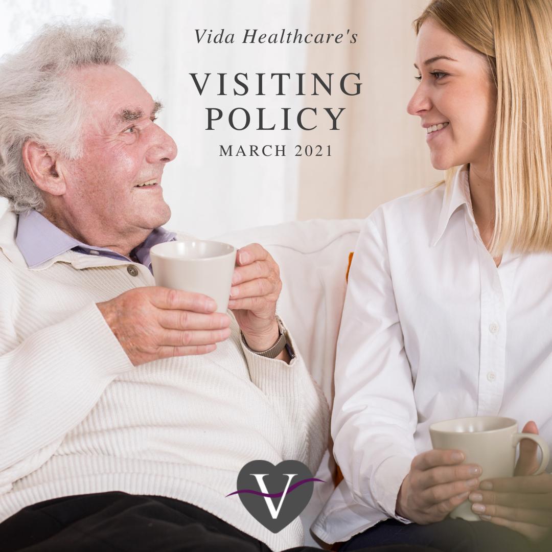 Vida Healthcare's visiting policy