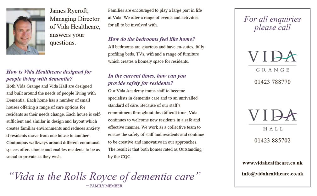 James Rycroft Vida Healthcare